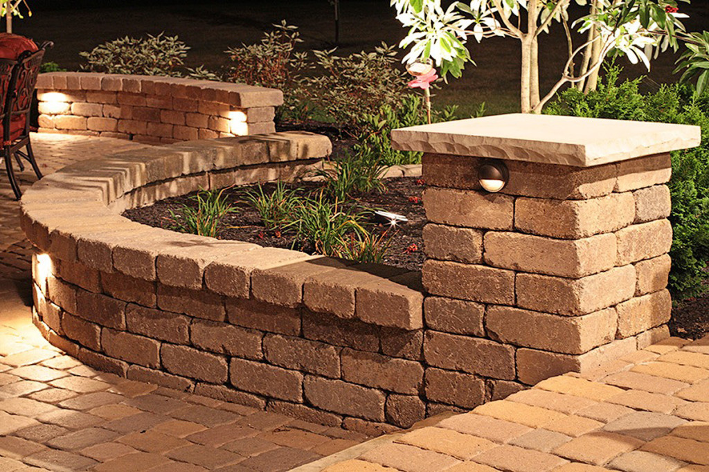 Auman Landscape Retaining Walls - Decorative and Structural - Lancaster Ohio